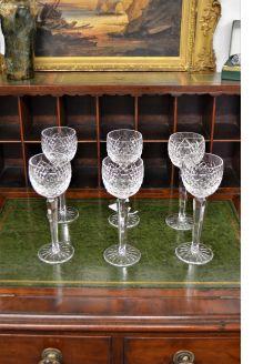 Set if six tyrone hock glasses