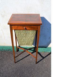 Edwardian mahogany sewing table