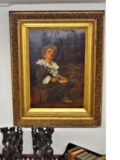 Victorian gilt framed picture