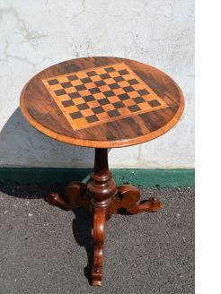 Victorian circular games table