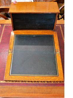 Oak stationery box