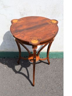 Edwardian rosewood occasional table