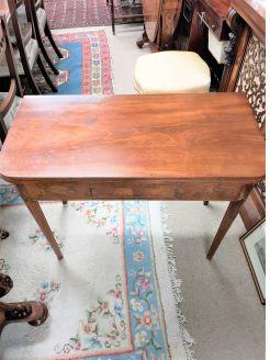 Georgian mahogany turn over leaf table