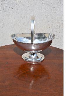 Silver sugar basin