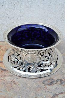 Irish silver dish ring