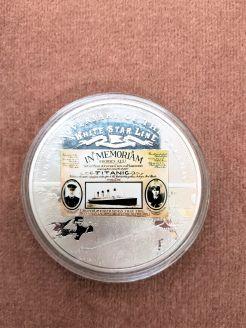 100th anniversary of the titanic commemorative coin