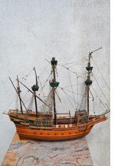 Old model ship