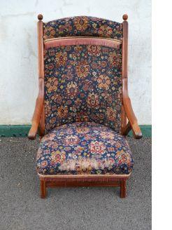 Mahogany armchair