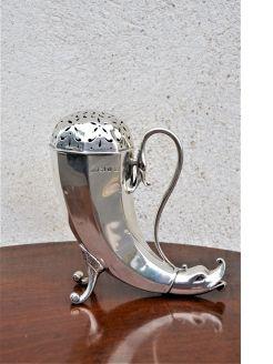 Silver castor