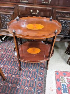 Edwardian two tier table
