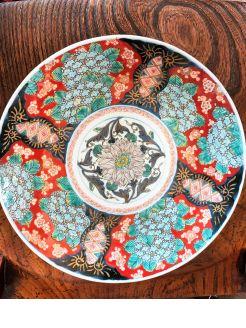 19th century japanese imari plate