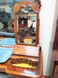 Georgian style dressing mirror