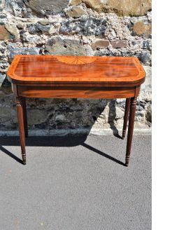 Georgian mahogany cart table
