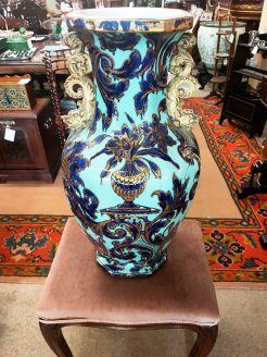 19th century ironstone vase