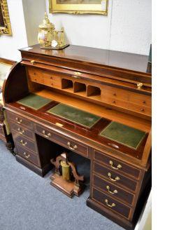 Edwardian mahogany desk