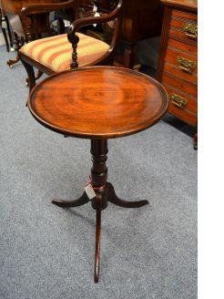 19th century mahogany dish top table