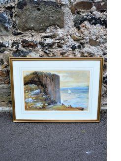 Watercolour Co.antrim coast