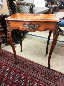 19th century french kingwood work table