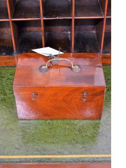 Mahogany box & slides
