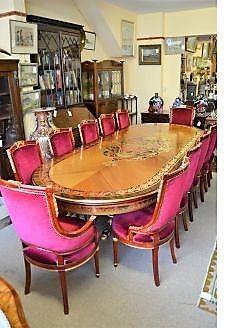 Italian dining suite