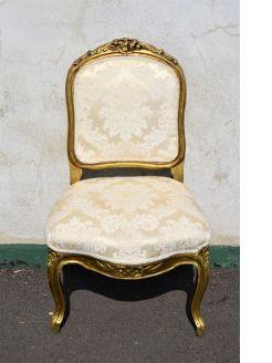 Giltwood chair