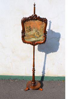 Victorian rosewood polescreen