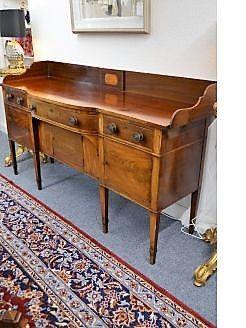Georgian mahogany sideboard