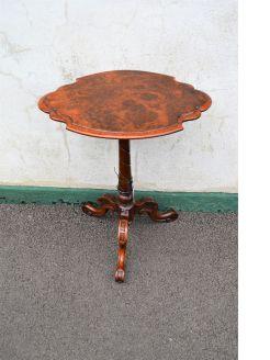 Victorian burr walnut table