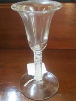 A georgian glass