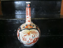 A japanese imari vase