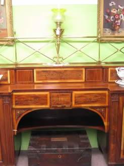 A 19th century mahogany sideboard