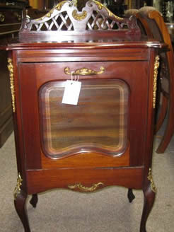 An edwardian music cabinet