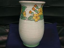 A charlotte rhead vase