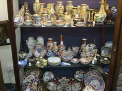 A large selection of oriental porcelain in store.