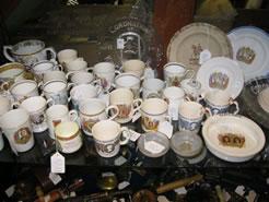 Large selection of coronation ware