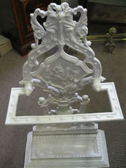 A cast iron victorian stick stand
