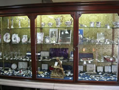 A large selection of georgian / victorian / edwardian silver items