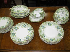An alfred meakin part dinner service