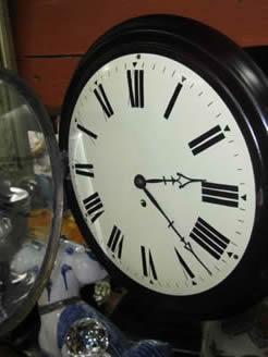 A fusee wall clock (modern)