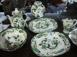 Selection of masons ware
