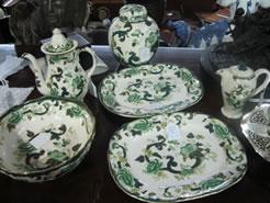 Selection of masons ware