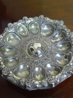 Elkington plate serving dish.