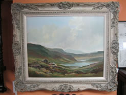 Oil Painting, signed - Connemara