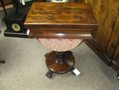 19th century games / sewing table