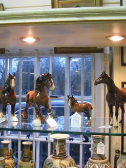 Selection of beswick horses