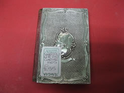 Silver front note pad