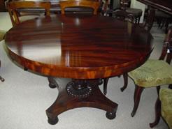 William 1V Mahogany Table