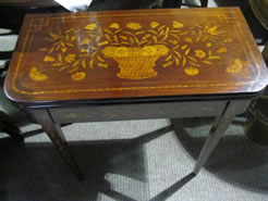 19th century Mahogany Dutch Card Table