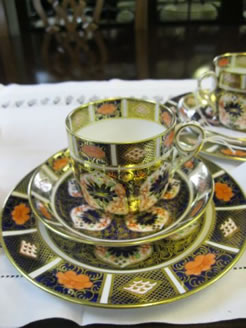 Large selection of crown derby