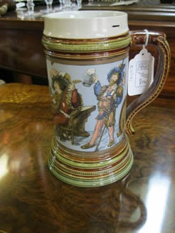 German Pottery Tankard